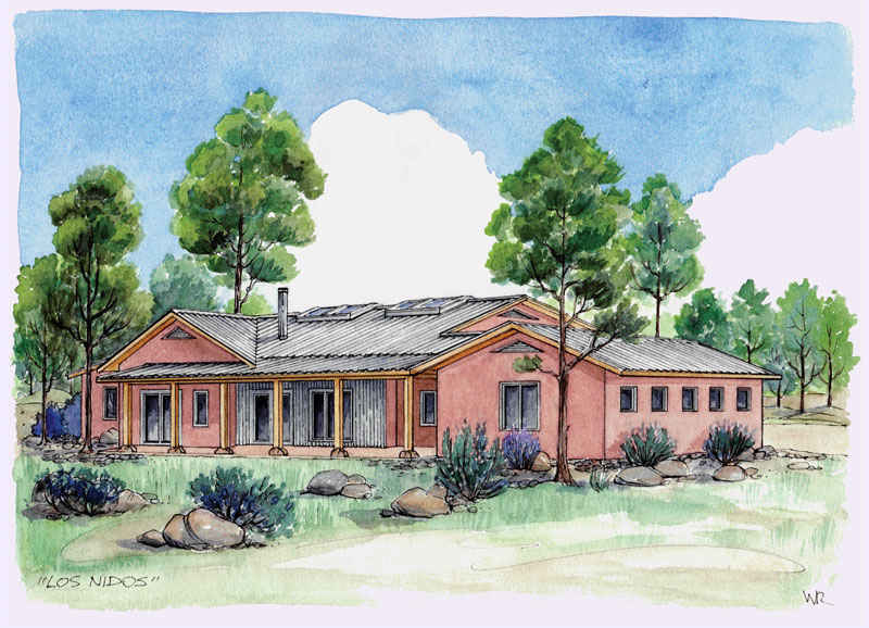 northern new mexico style home plans