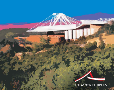 The Santa Fe Opera House, New Mexico