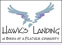 Hawk's Landing at Birds of a Feather  GLBT Community