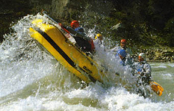 Rafting in New Mexico